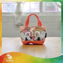 Promotional Full Color Canvas Wholesale Handle Personalized Tote Bag