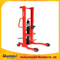 Hydraulic oil drum hand pallet truck