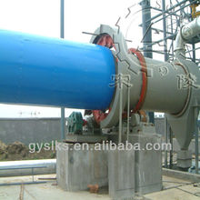 Cassava chips rotary dryer machine with little easy wear parts