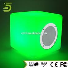 Innovative design bluetooth speaker with alarm clock