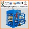 China quality manufacturer cement hollow block machinery making QTJ4-18 hydraulic brick molding machine