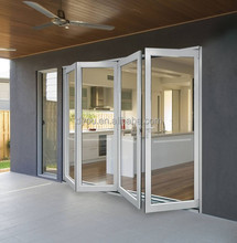 New Products for Construction Aluminium Alloy Door Cheap House Interior Folding Door Design for Sale