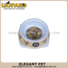 Modern hot selling cartoon dog bowl
