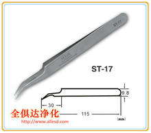ST -17 Long Precision Stainless Steel Tweezer