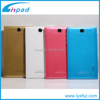 7 inch mtk 6572 3g sim card android tablet with leather flip cover