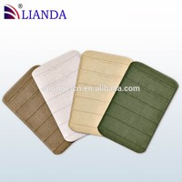 Anti-slip bathroom house door loofah padded bath mat