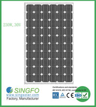 high efficiency A-grade 230W solar panel pakistan lahore