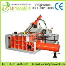 automatic ferrous metal press machine scrap metal baler copper aluminum cans hydraulic rebar baling machine