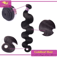 16 Inch Body Wave Natural Color 100% Human Hair Weave Extension Machine Weft for Women 100g 3.5oz
