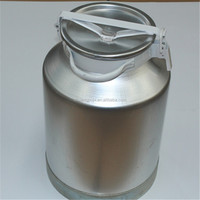 50L Aluminum Milk Cans / Stainless Steel Milk Transport Cans