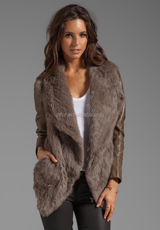Вязание курток с мехом