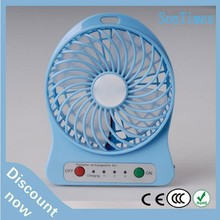 small rechargeable 5v usb micro electric portable mini desktop mist cooling fan