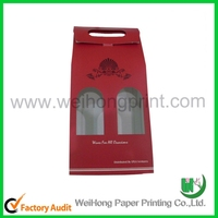 custom 4 pack paper beer carrier box wholesale