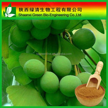 Wholesale price ginkgo biloba leaf/seed extract, flavone 24% lactone 6%
