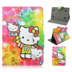 Hello Kitty Themed For Apple iPad Mini 2 Leather Folio Case