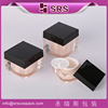 High Quality SRS Cosmetic Manufacturer Crystal Diamond Cosmetic Jar,Cosmetic Case 30g ,Square Shaped Acrylic Jar