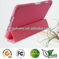 2 in 1(PC &TPU) flip cover for ipad mini 2
