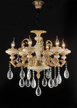 chinese hot popular luxury copper K9 crystal chandelier