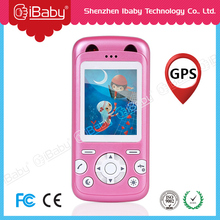 Ibaby kids cell phone Long standby time smart portable kids gps tracking device