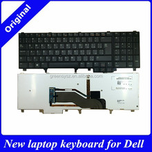High quality AR layout laptop keyboard for DELL E6520 E5520 M4600 M6600 E5530 with backlit /stickpoint