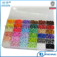 Free shipping 5 mm hama beads 36 colors diy educational toys craft