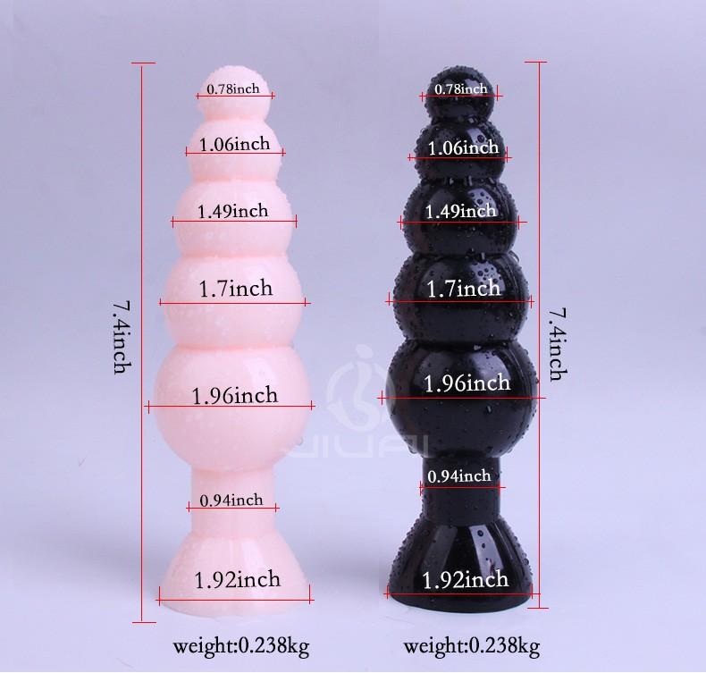 Grande Taille superbe Plug Anal Jouets (200*55mm), Perles de Butin, produits de sexe pour les Hommes et femmes