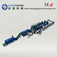 leading seller for hot washed clear pet flakes/pet bottle scrap washing plant/chemical to wash pet bottle