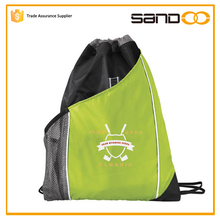School drawstring nylon mesh gift bag