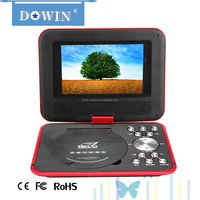factory wholesale price Interesting&Useful Gifts Portable DVD EVD Player with 3D Cheap Buying from China Mini 7 inch DVD Player