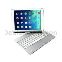 360 Degree Rotation Stand Wireless Bluetooth 3.0 Keyboard for iPad Air 2
