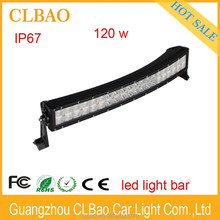 Rigid style 120w double row led light bar cover for off road
