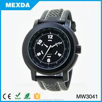 man casual luminous pu leather watch bands wholesale
