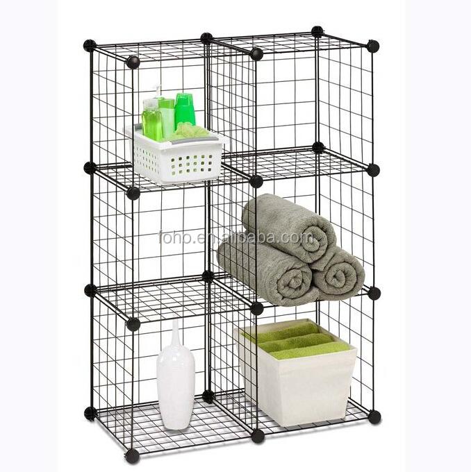 QQ20141031103349.jpg  sc 1 st  Alibaba & Amazing Storage Shelf Metal Grid Cube Storage Fh-w0024 - Buy Metal ...