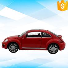Selling Pull Back 1/32 diecast car model simulation beetle alloy car model