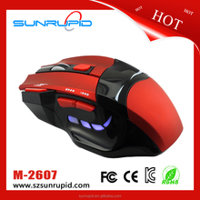 Wholesale Good Price Illuminated Optical Gaming Mouse 7D LED Gaming Mouse