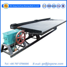 Gravity Separator Shaking Table for Sand Alluvial Gold Concentration