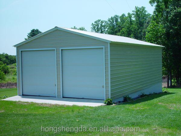 Economical portable steel frame car garage sheds for Cheap garages for sale