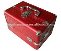 Cosmetic case review, guangzhou aluminum trolley makeup case, vintage cosmetic case