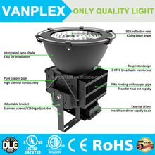 alibaba express Meanwell driver bridgelux chip waterproof 100w-500w led stadium lights with 5 years warranty