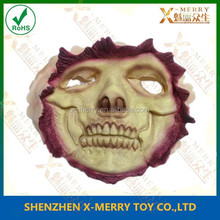 X-MERRY canival realistic Awesome Mask Full Head Rubber latex Horror Mask for halloween day