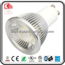 ETL CE RoHS SAA gu10 5w led bulb cob led spotlight 50w halogen replacement