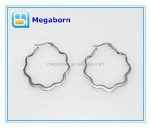 Wholesale Fashion Hoop Design Stainless Steel Earring