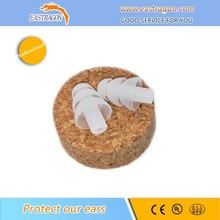 Reusable Natural Silicone Gel Ear Protective Soundproof Earplugs
