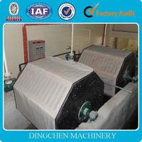 Zhengzhou Dingchen high quality 2400mm wheat stalk recycling toilet paper, tissue paper, napkin paper making machine