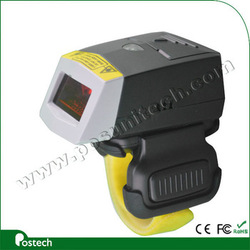 1D Linear CCD Mini Wired Ring Barcode Scanner with 2 Meter rs232 Cable for warehousing freight FS01