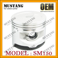 Motorcycle pistons factory supply Indian motorcycle piston for SM150 with good quality