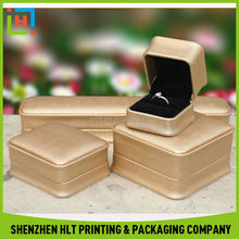Factory Direct Custom Wholesale Leather Jewellery Box With Logo Embossing