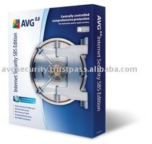 AVG Internet Security SBS (Small Business Server) Edition software 75+1 Computers 2 Years