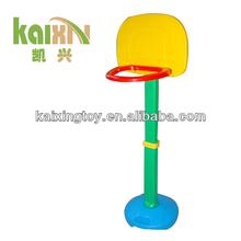 2015 Plastic Basketball Toy Rack For Children