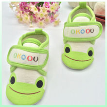 High quality and hot sell animal style cute happy patterns for baby shoes